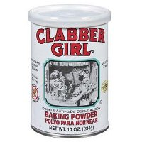ClabberGirl BakingPowder 200 Le Secret des Pâtisseries Américaines : Baking Powder et Baking Soda
