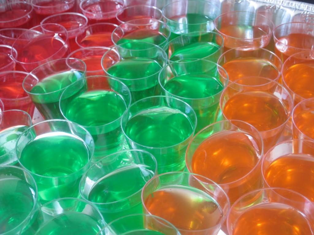 Jello shots : gelées alcoolisées aux fruits
