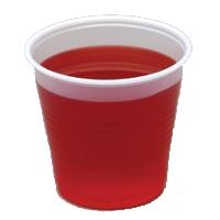 Grands verres en plastique pour jell-o shots