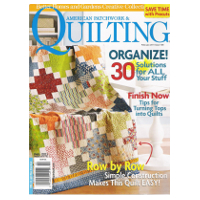 Abonnement au magazine américain American Patchwork and Quilting