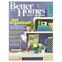 Abonnement au magazine américain Better Homes and Gardens