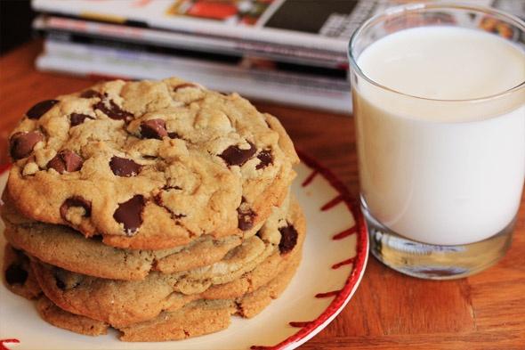 Receta americana de cookies blandas