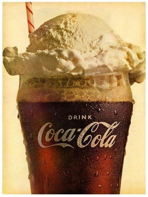 Recette Vaca Preta rootbeer float au coca cola et vanille