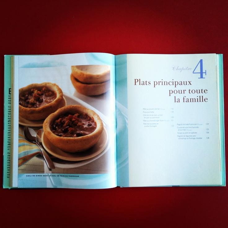 Livre de cuisine américaine