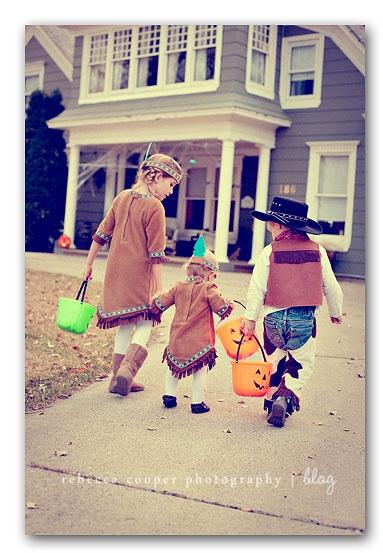 Porte à porte pour Halloween en France comme aux USA