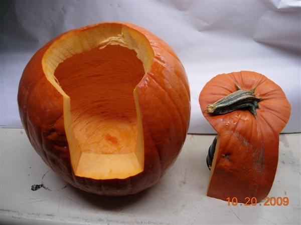 Como Hacer Una Calabaza Para Halloween - Calabaza-hallowen