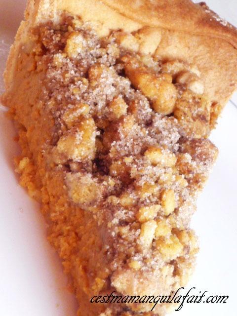 Recette de la tarte à la citrouille façon strudel