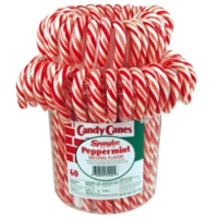 decoración candy canes