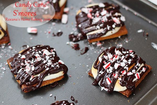 Smores aux candy canes