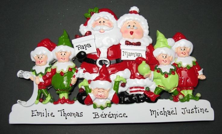 Décorations de Noël américaines
