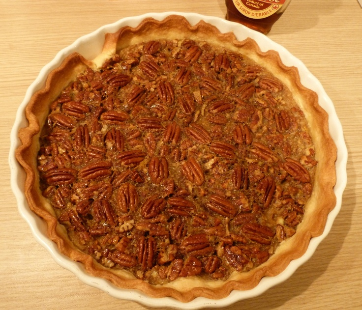 Receta tradicional de tarta de nueces pecanas