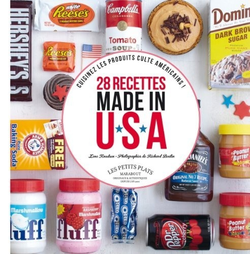 Livre 28 recettes Made in USA