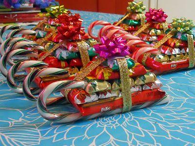 trineos de candy canes width=