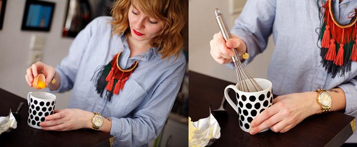 Préparer des gâteaux dans des tasses par Juliette de Juices And Cakes