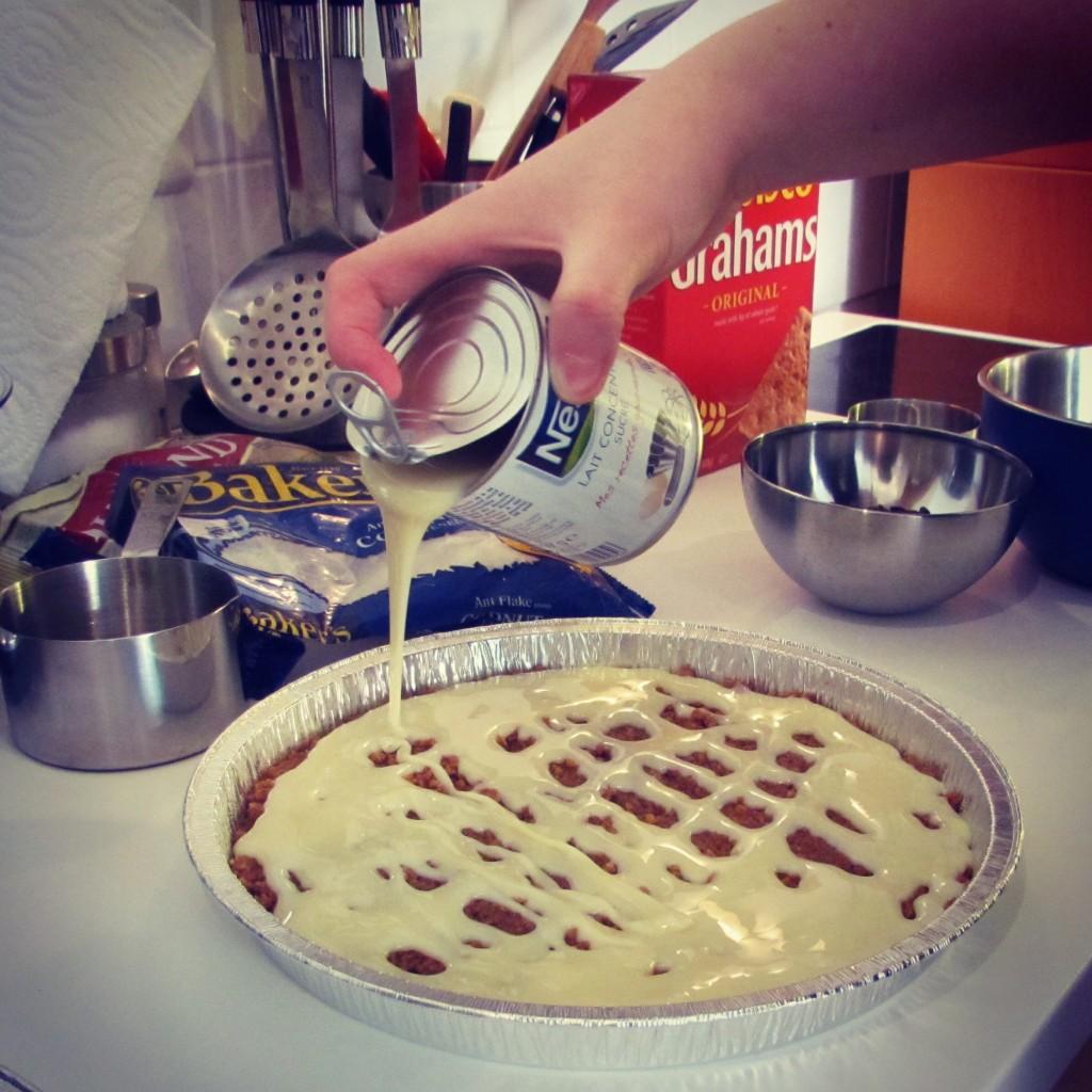 Recette des magic cookie bars chocolat coco for Regilait cuisine
