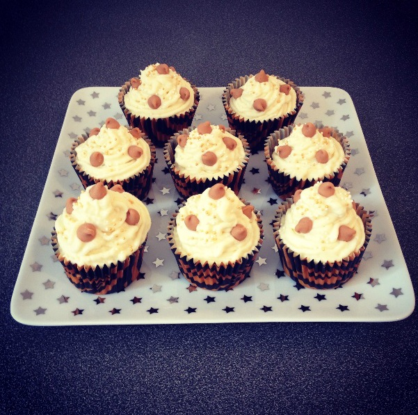 Recette cupcake chocolat peanut butter