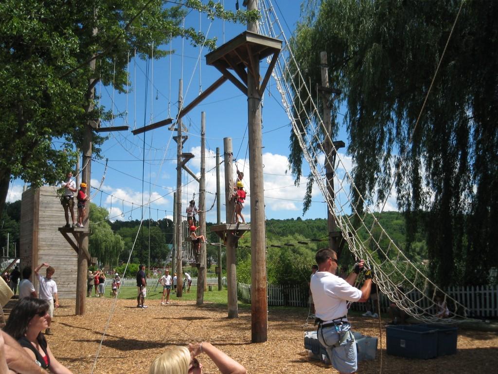 Activités dans les summer camps américains