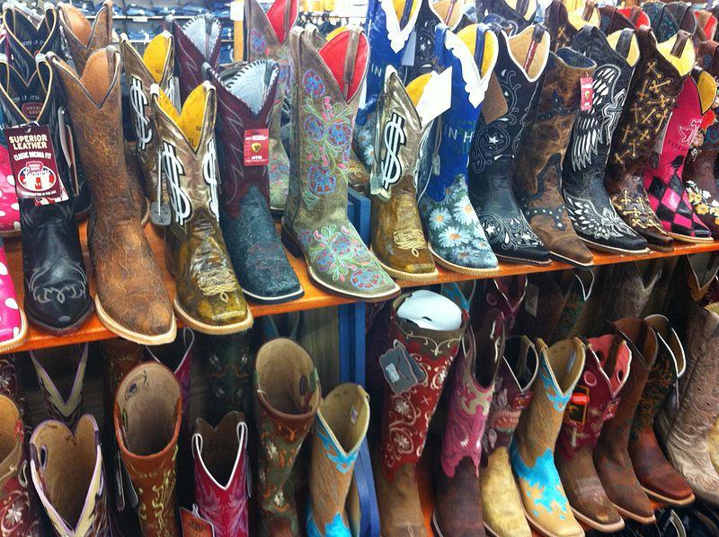 cowboy bottes