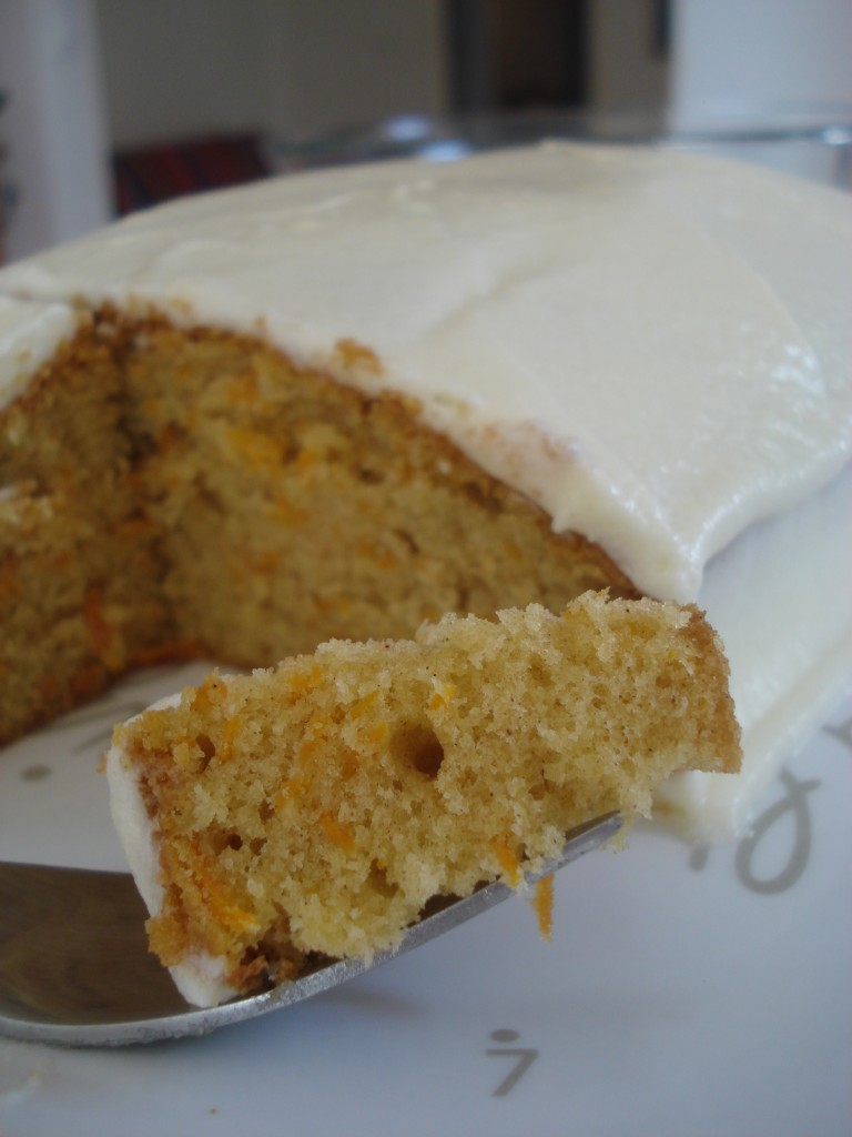 Carrot Cake close up