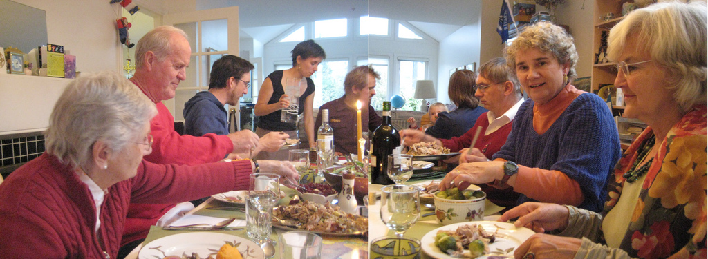 Thanksgiving une tradition ch re aux am ricains for Idee repas convivial en famille