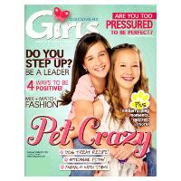 Abonnement au magazine américain Discovery Girls