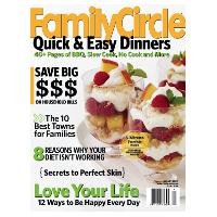 Abonnement au magazine américain Family Circle