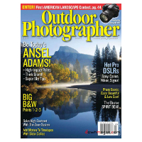 Abonnement au magazine américain Outdoor photographer