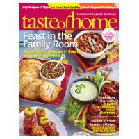 Abonnement au magazine américain Taste of Home