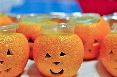 Jello shots d'Halloween
