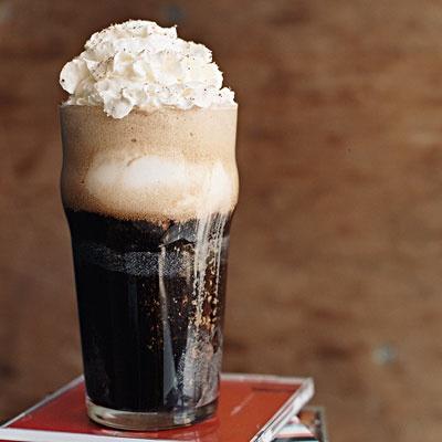 Recette beer float, rootbeer float alcoolisé