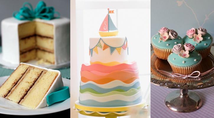 Décoration de gâteau en pâte à sucre
