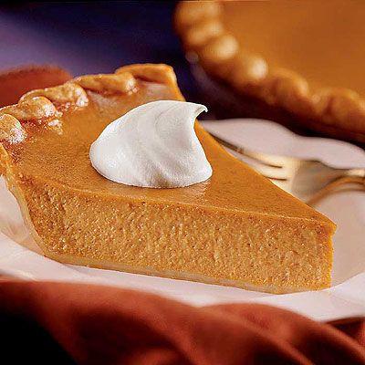 Recette américaine de la tarte à la citrouille traditionelle