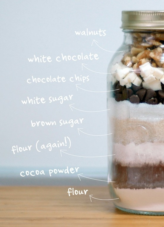 Cookies in a Jar ou cookies en bocaux