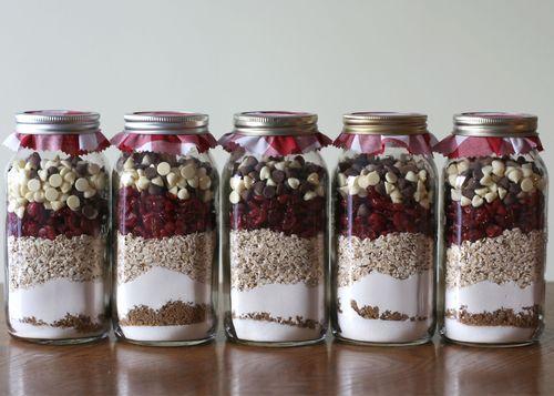 Cookie in a Jar : Les Cookies Prêts à Cuisiner «Faits Maison» !