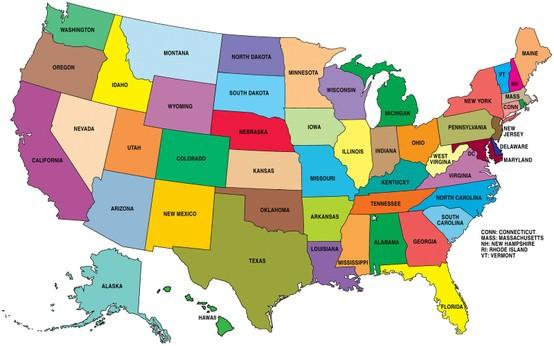Comment Apprendre les 50 États Américains Facilement ?