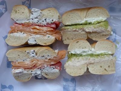 Recette bagel sandwich