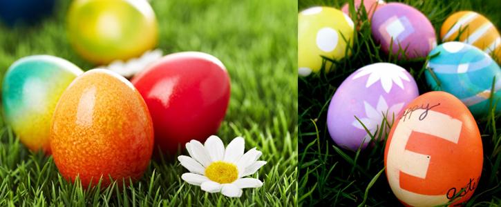 Oeufs de Pâques américains colorés avec PAAS egg-coloring kit