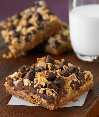 Magic Cookie Bars : Recette des Friandises Américaines Chocolat-Coco