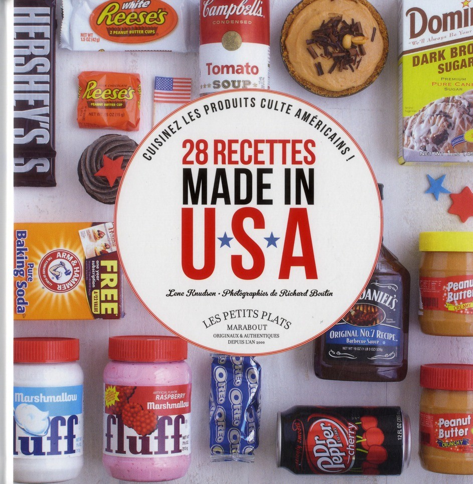 Livre de 28 Recettes Made in USA