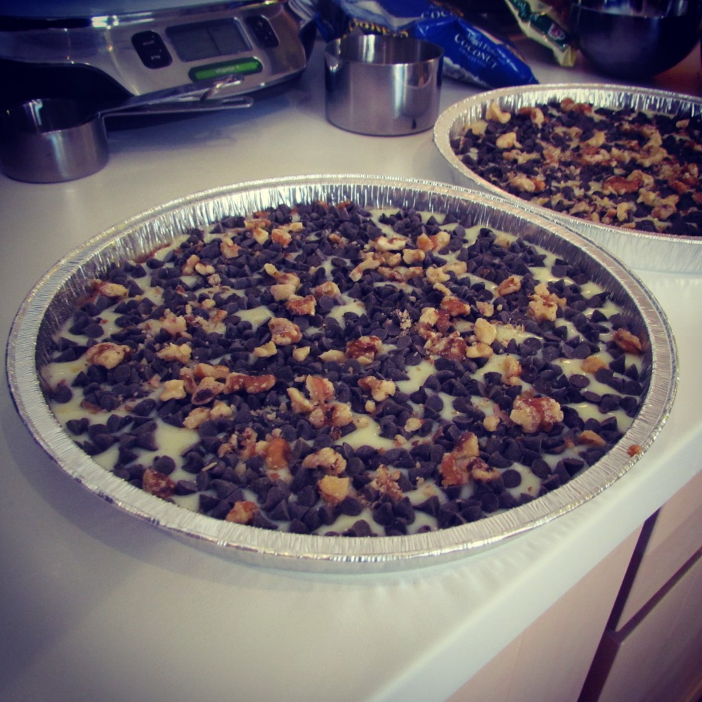 Magic Cookie Bars avec noix