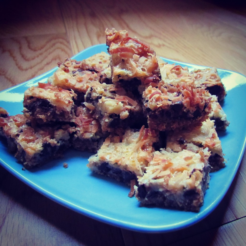 Bouchées de Magic Cookie Bars