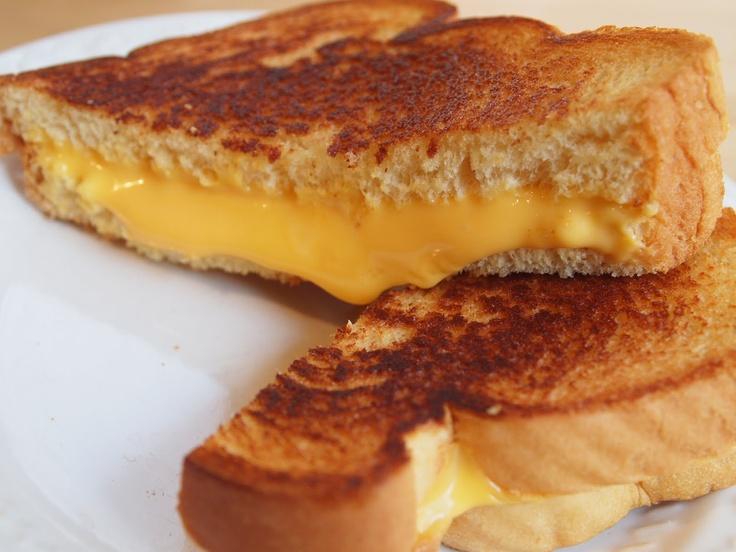 Recette du Sandwich Grillé au Cheddar américain