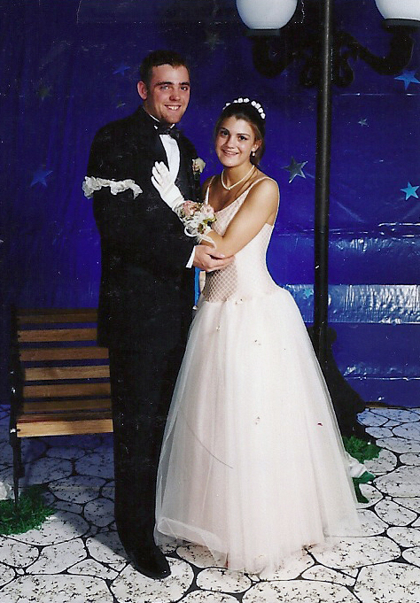 Couple Prom américain