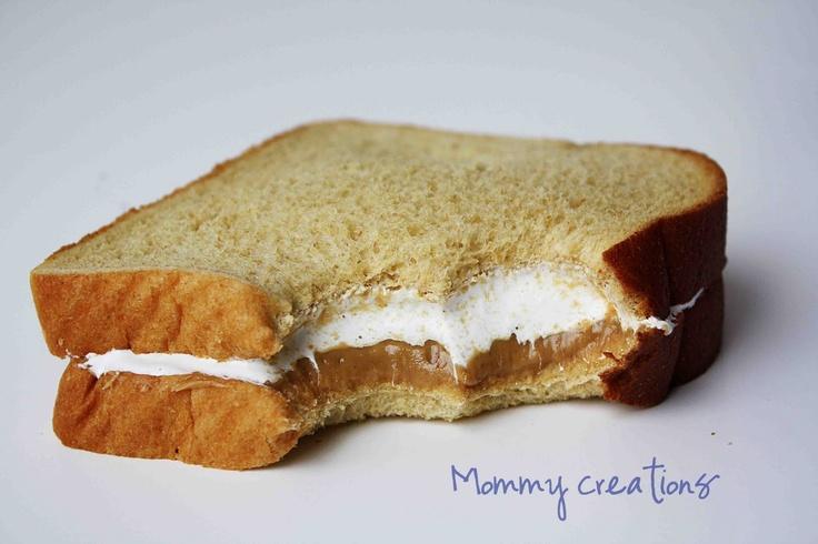 Sandwich fluffer nutter américain