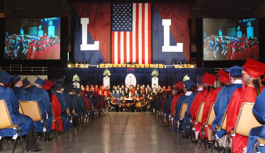 Cérémonie de remise des diplomes américaine