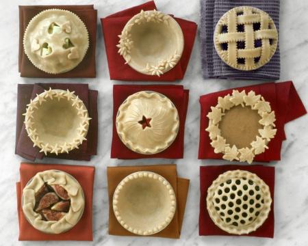 superficie creativa de tarta de manzana
