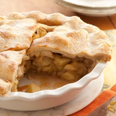 receta tradicional de tarta de manzana