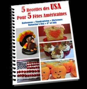 e-book recettes américaines