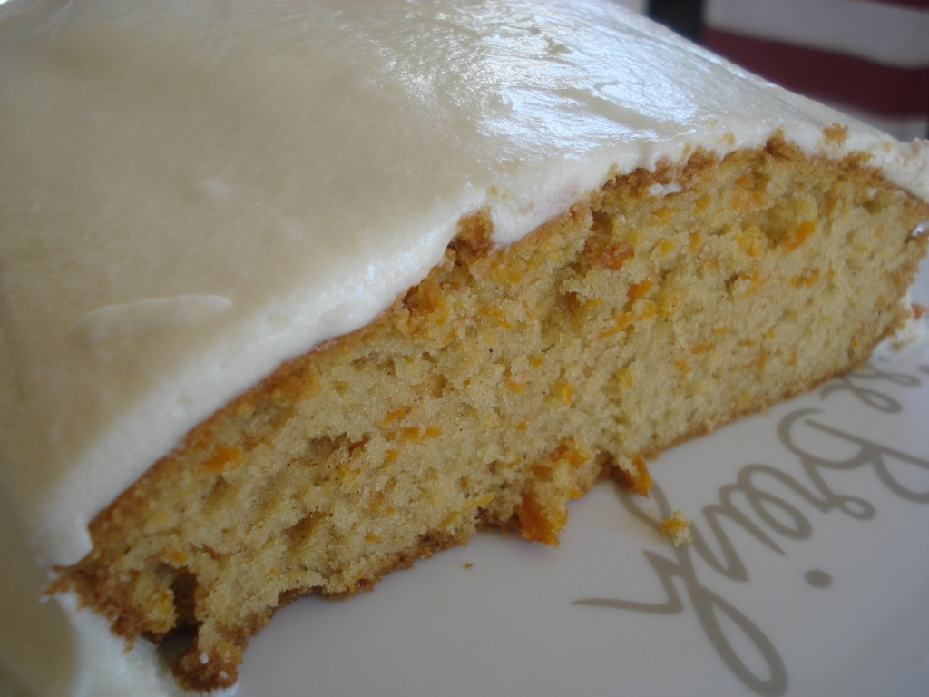 Carrot Cake coupé